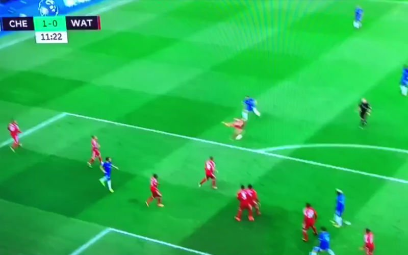 Assist van Hazard, maar wat een hemelse knal van Pedro (video)