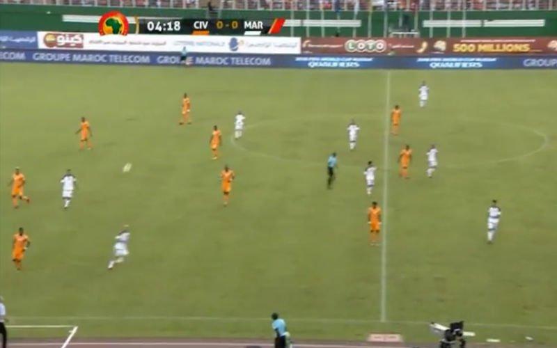 Wilmots zorgt voor 'een magisch moment' tijdens wedstrijd Ivoorkust (video)