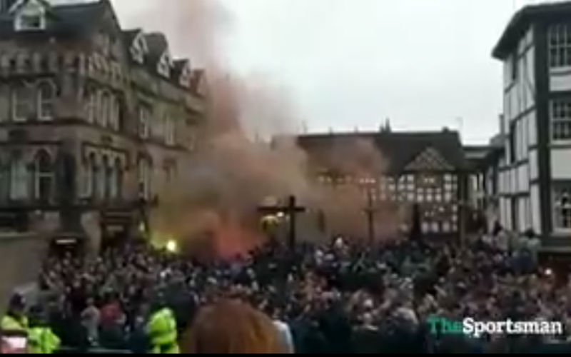 Crazy! Feyenoord-fans toveren Manchester om in Tomorrowland (video)