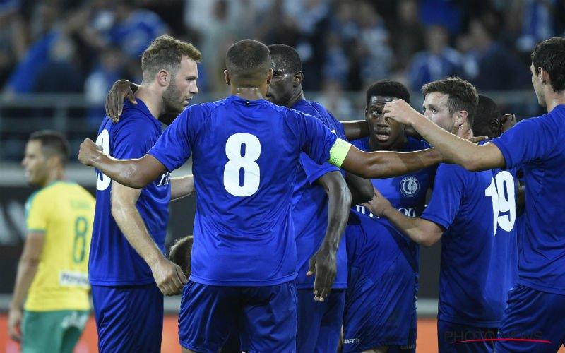 Depoitre en David trappen Gent naar volgende ronde in Europa League