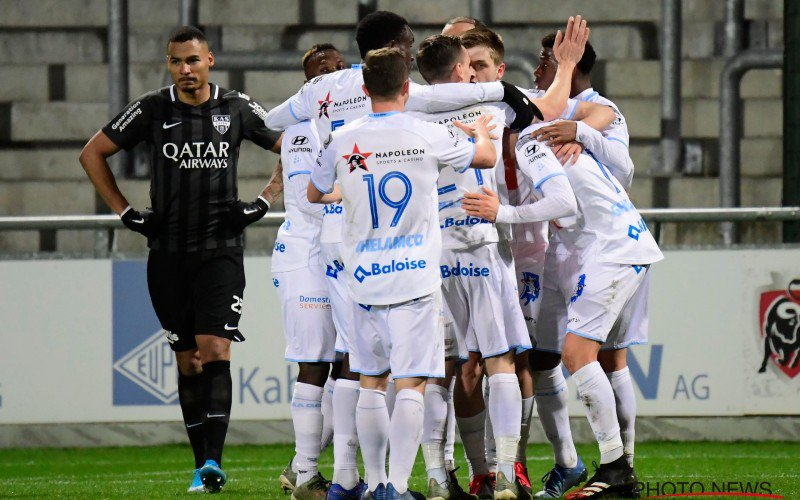 AA Gent boekt late zege en loopt in op leider Club Brugge