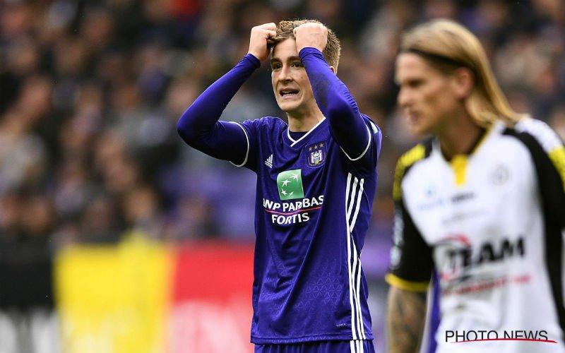 'Anderlecht neemt een ingrijpend besluit over Saelemaekers'