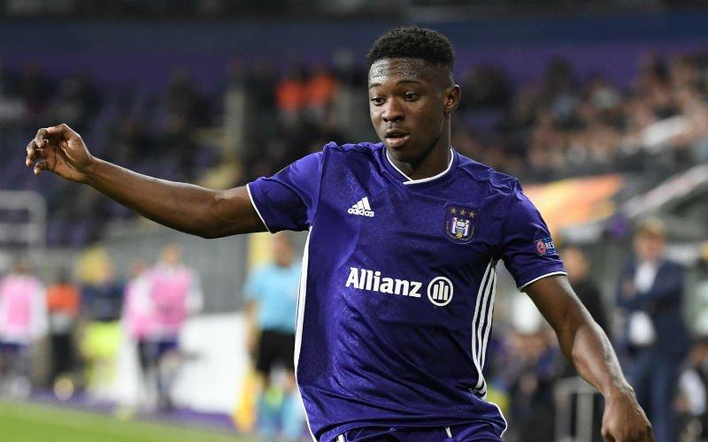 'Anderlecht dreigt Amuzu kwijt te spelen aan rechtstreekse concurrent'