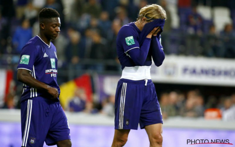 Anderlecht-fans ziedend: