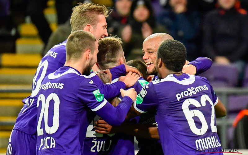 'Anderlecht is niet te stoppen en drukt door'