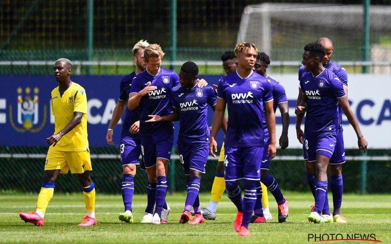 Anderlecht wint eerste oefenmatch ondanks positieve coronatest bij STVV