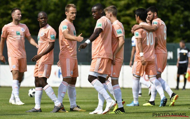 Anderlecht wint eerste oefenpot tegen Ajax, drama voor Hassane Bandé