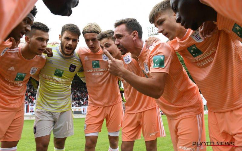 Anderlecht blijft in zelfde bedje ziek: