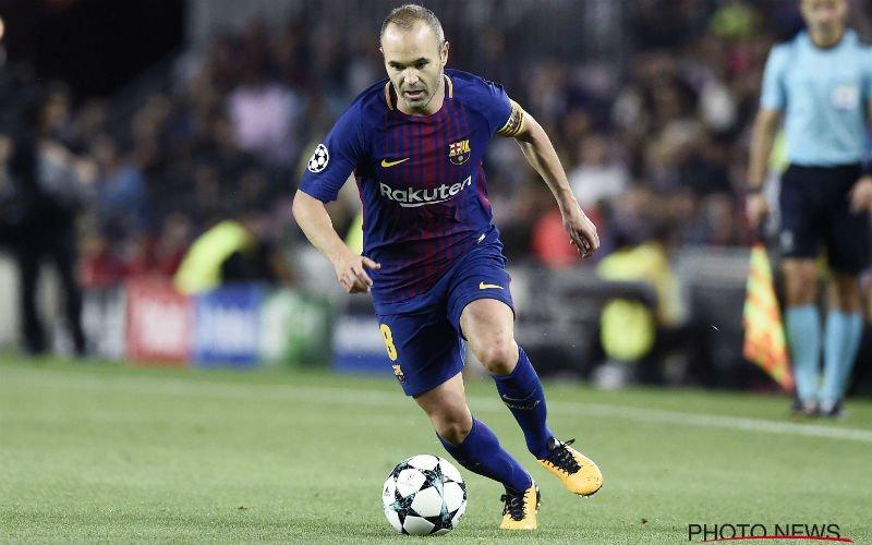 'Iniesta bereikt akkoord over vertrek bij Barcelona: 37 miljoen'
