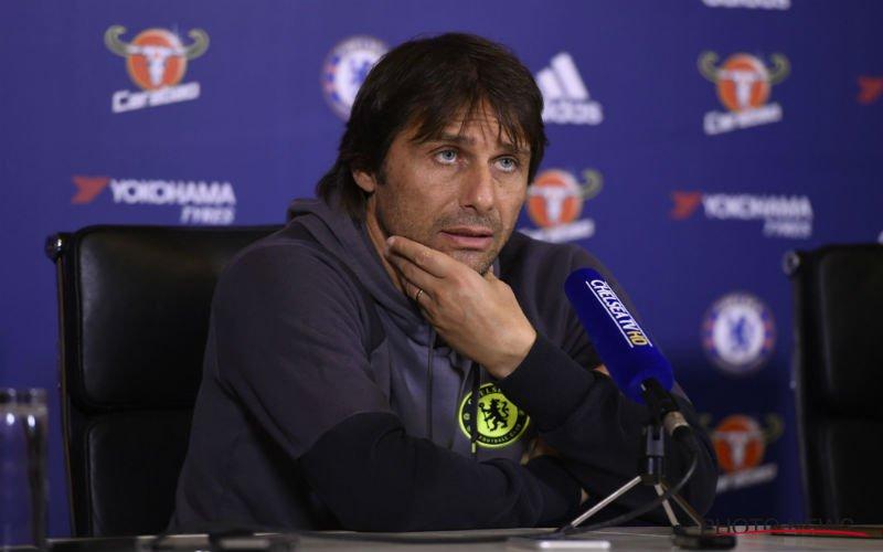 Conte bevestigt vertrek van Chelsea-spits naar Liverpool