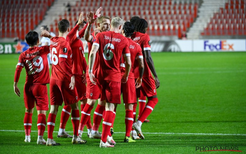 Antwerp stunt tegen Tottenham: