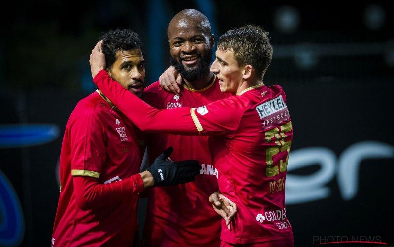 Lamkel Zé en Mbokani schenken Antwerp ruime zege tegen Waasland-Beveren