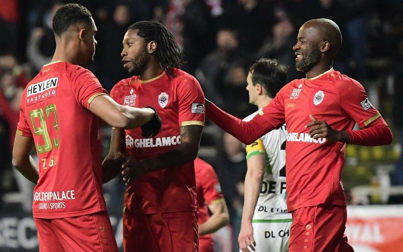 Mbokani trapt Antwerp in moeilijke match voorbij Zulte Waregem