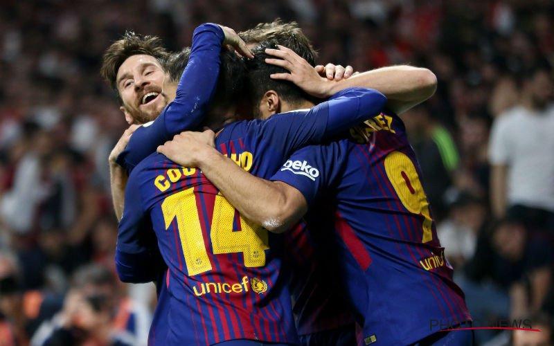 Barcelona maakt Sevilla belachelijk in bekerfinale
