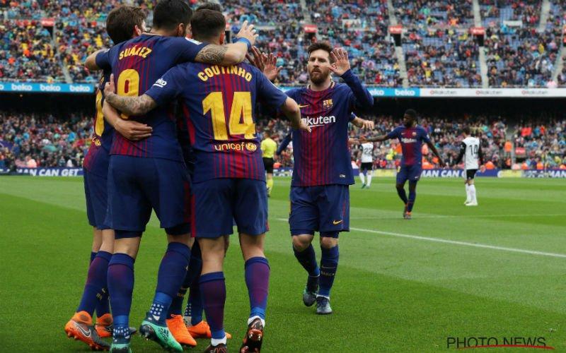 Kersvers kampioen Club Brugge gaat samenwerken met het grote Barcelona