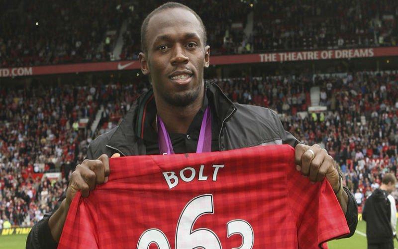 Usian Bolt trekt zich op aan Rode Duivel: