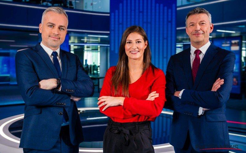 Vrouw van Maarten Breckx debuteert bij VTM Nieuws: