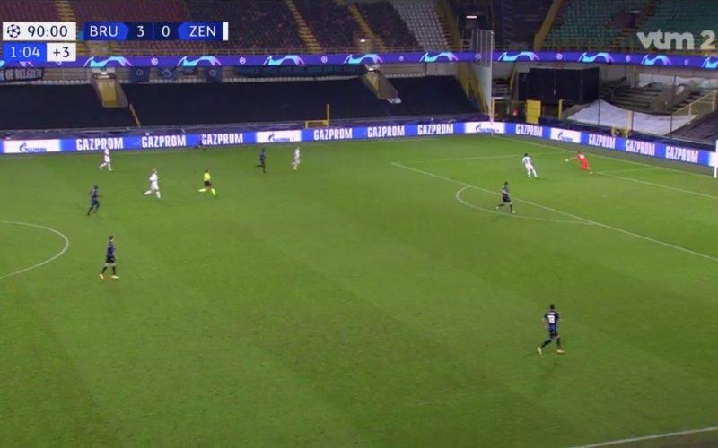 Simon Mignolet waant zich even Ronaldo tijdens Club-Zenit: