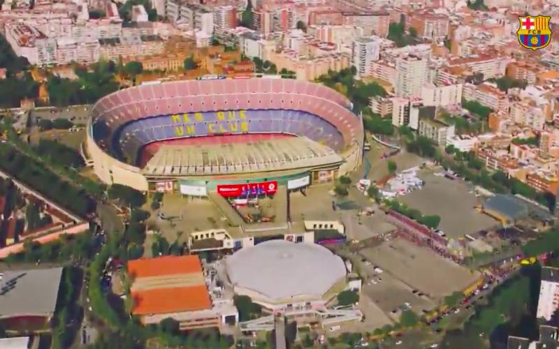 Barcelona stelt adembenemend nieuw stadion voor