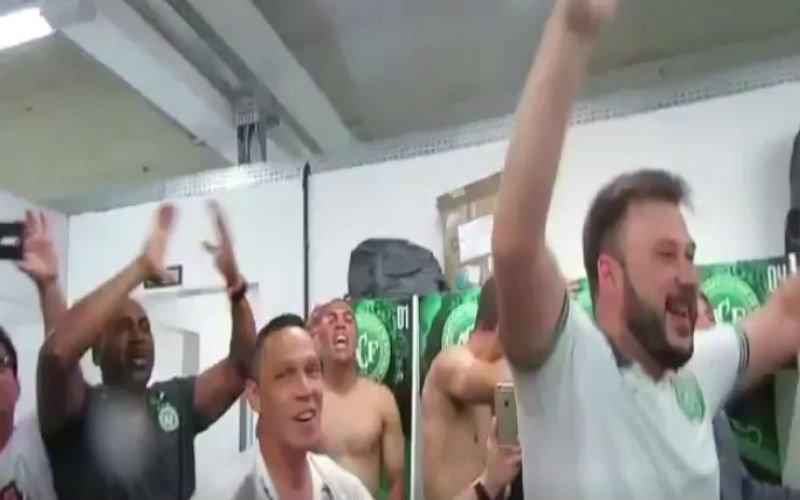 Hartverscheurend: Braziliaans team viert finaleplaats die ze nooit zullen spelen (Video)
