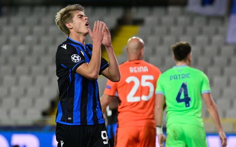 Charles De Ketelaere terechtgewezen bij Club Brugge: