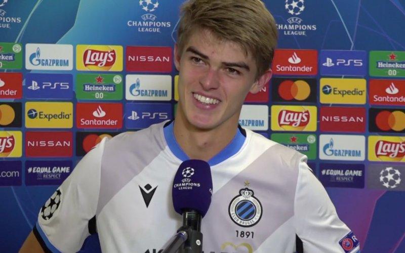 Matchwinnaar Charles De Ketelaere reageert na stunt met Club Brugge