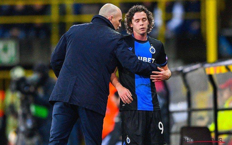 Maxim De Cuyper (19) reageert na straf debuut bij Club Brugge