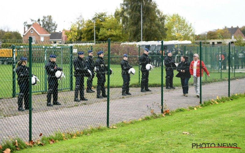 Politie moet ingrijpen na Club Brugge-Antwerp