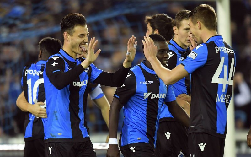 Speler Club Brugge ontsnapt: