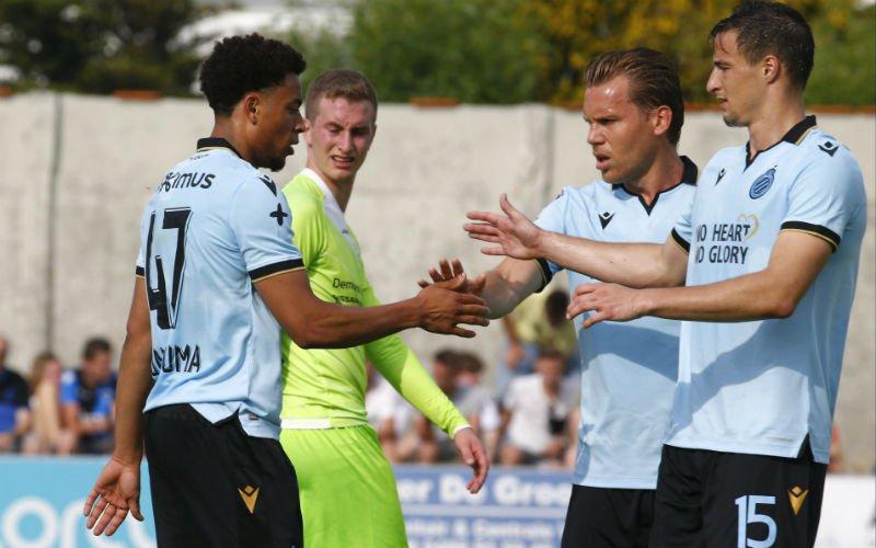Club Brugge haalt sloophamer boven en wint eerste oefenpot met 1-9
