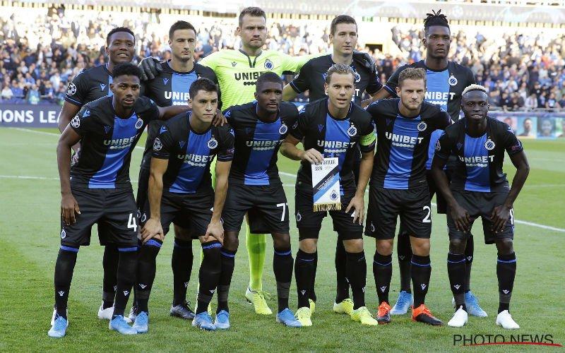 Club Brugge-fans niet te spreken over eerste helft: