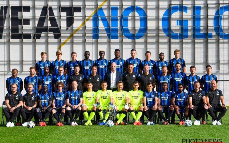 Club Brugge is duidelijk: 'Transfer van 5 miljoen mag niet op teamfoto'