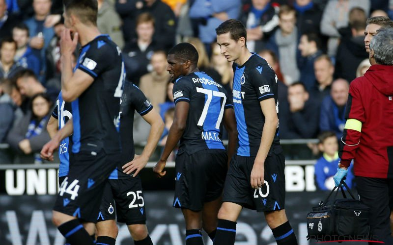 Twijfels bij titelkansen van Club Brugge: