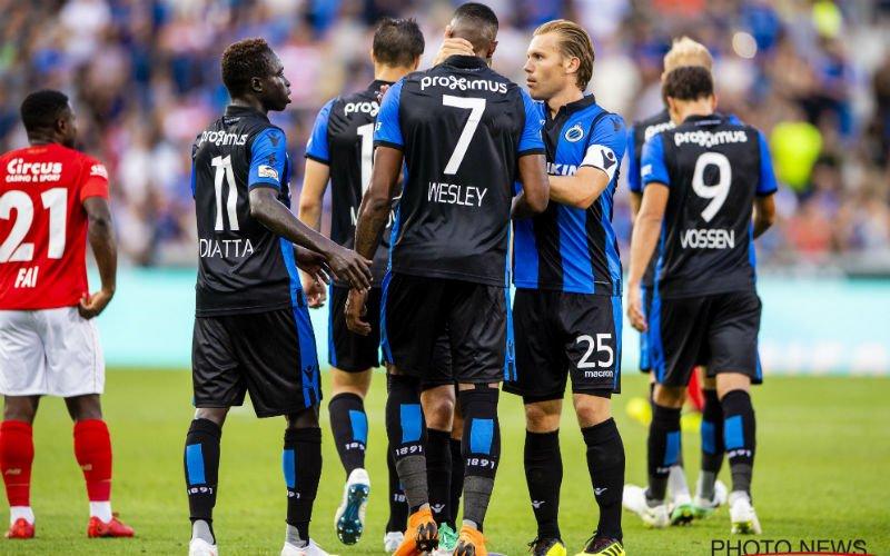 Club Brugge moet Wesley even missen, maar krijgt er snel twee toppers bij