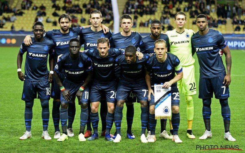 Club Brugge speelt uitblinker kwijt: