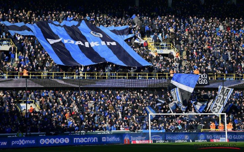Fans van Club Brugge laten het massaal afweten