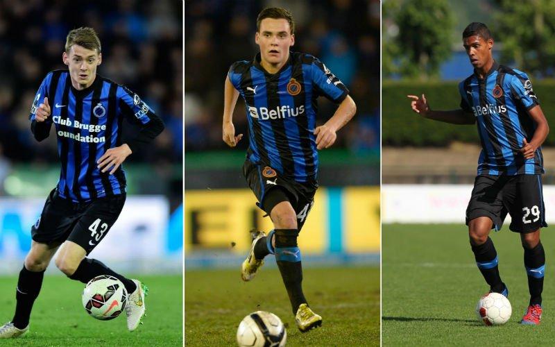 11 'gebuisde' jeugdproducten van Club Brugge die het elders wél waarmaken