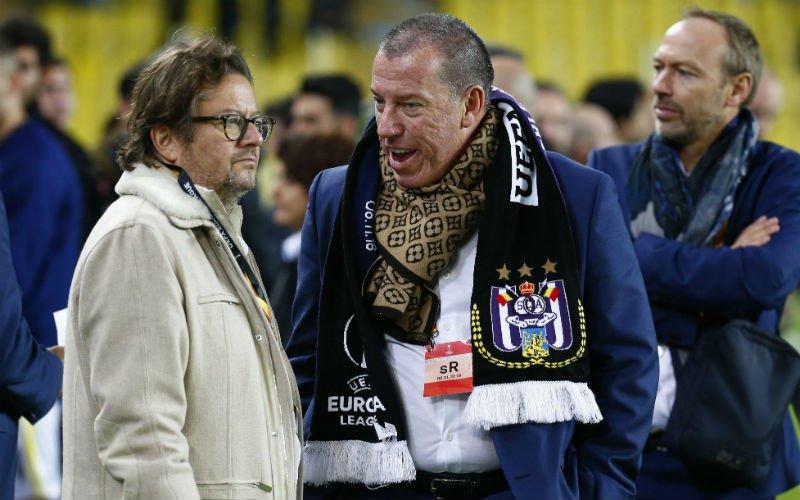 Anderlecht reageert officieel op