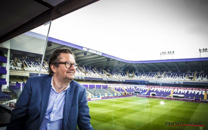 Coucke maakt Anderlecht-fans blij: