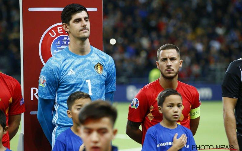 Transferbom in Spanje: 'Hazard en Courtois vertrekken mogelijk bij Real Madrid'
