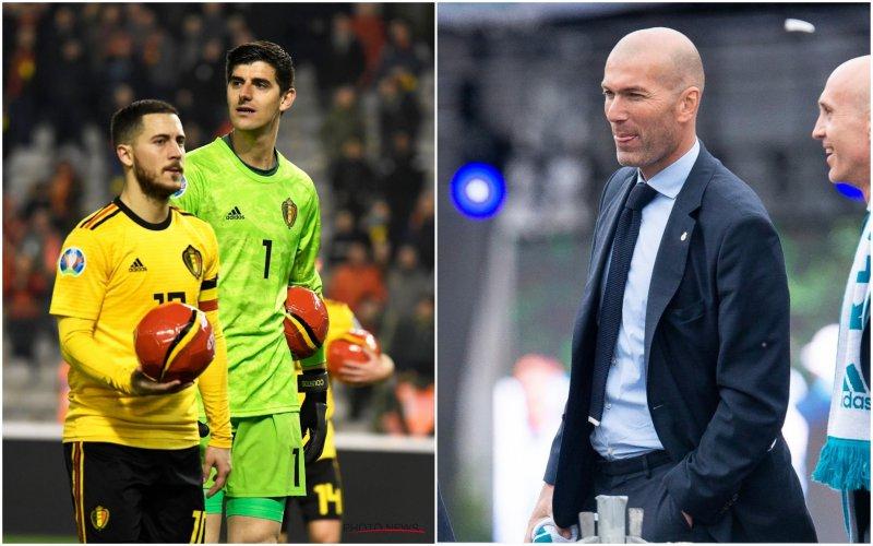 Woeste Zidane haalt uit naar Hazard en Courtois: