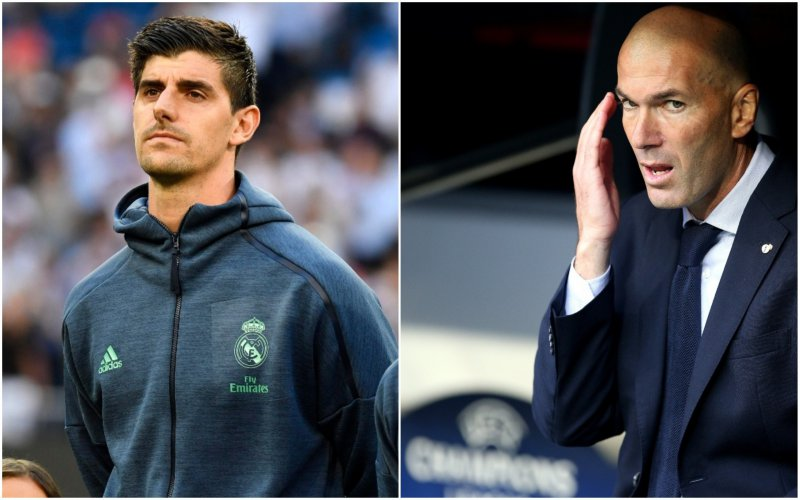 'Geshockeerde Zidane neemt straffe beslissing over Courtois'
