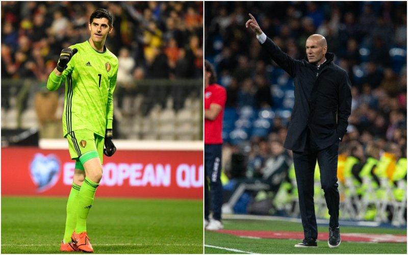 Oorlog tussen Zidane en Courtois ontspoort: