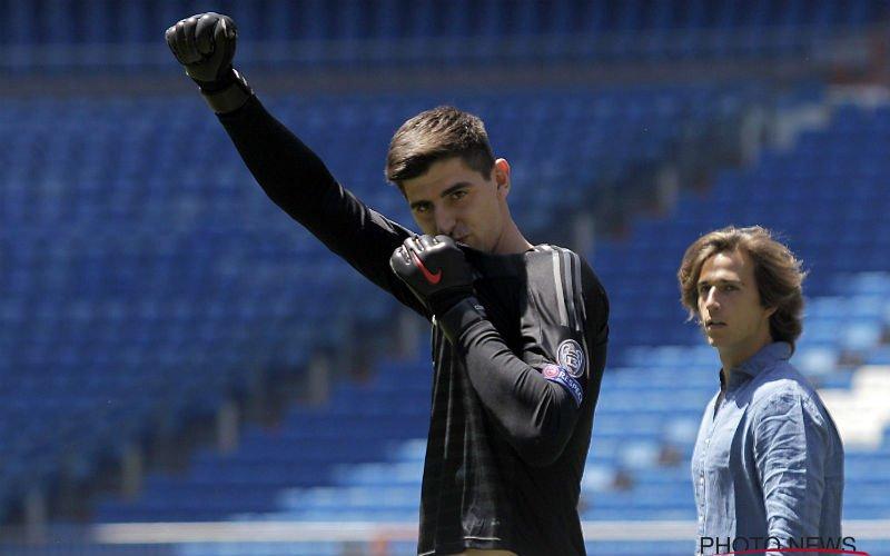 Atlético-fans gaan Courtois op bizarre wijze wreken