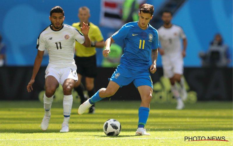 Coutinho dé held van de dag met late treffer tegen stug Costa Rica