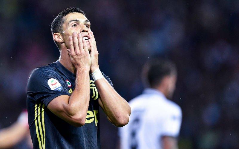 Sterspeler wordt slachtoffer van komst van Ronaldo: