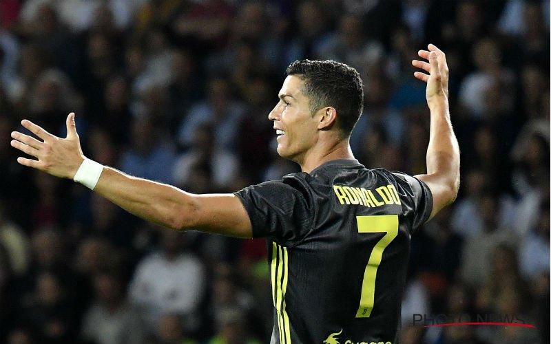 Ronaldo trapt Juventus alleen aan de leiding