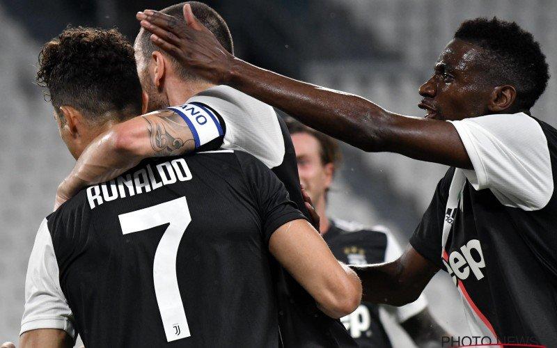 Juventus is voor de negende (!) keer op rij kampioen