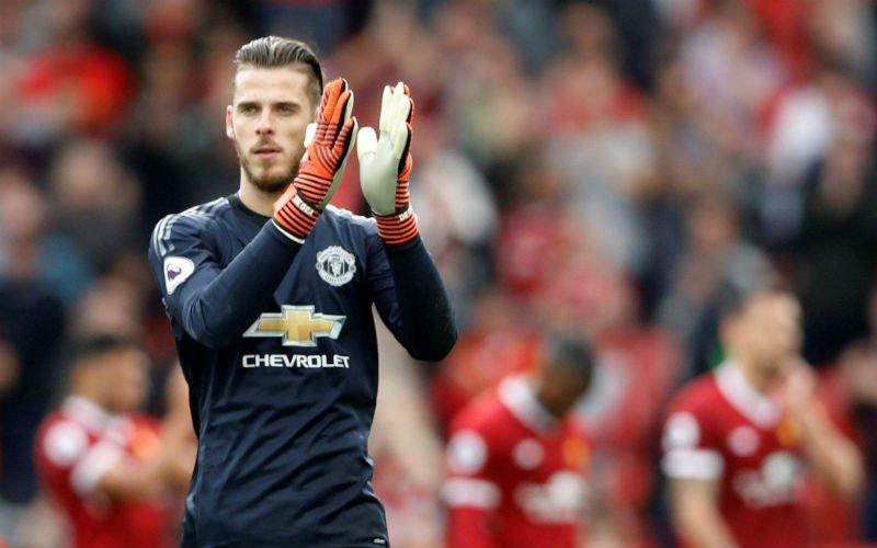 'Manchester United schrikt; topdeal in de maak voor De Gea'