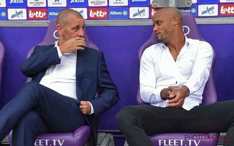 Vincent Kompany verneemt erg slecht nieuws bij Anderlecht